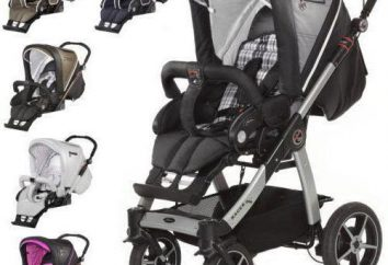 Racer GT wózek Hartan: opis, rodzaje, modele i opinie
