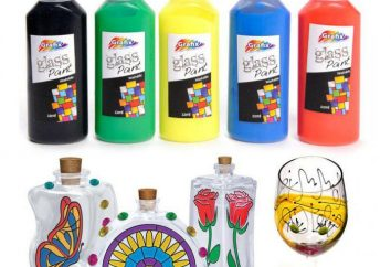 Stained szkła farby dla dzieci własnymi rękami w domu. Składniki i jak używać farby barwione szkło dla dzieci