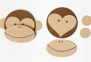 Affe das neue Jahr mit ihren eigenen Händen. Crafts Affe auf Silvester mit seinen Händen und Häkelnadeln