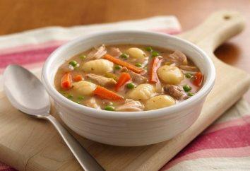 Comment faire des boulettes pour la soupe de farine, pommes de terre et des citrouilles