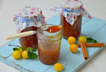 Marmellata di prugne di ciliegia: segreti di cucina, l'uso, la preparazione per il futuro