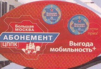 Abonnement « Big Moscou »: couverture, carte et les frais de déplacement