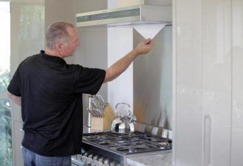 cappe da cucina: riparare le proprie mani