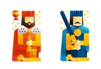 Como realizar uma adivinhação quatro reis. diferentes opções