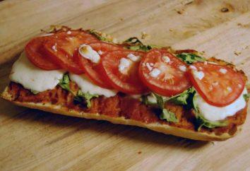 Pranzo in fretta – pagnotta pizza con ripieni diversi.