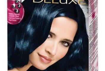 colorant pour cheveux noirs: les producteurs, la palette