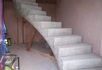 Żelbetowe schody: zastosowanie, struktura