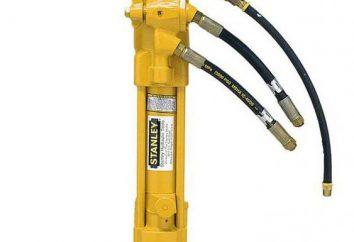 Outils hydrauliques: photos, histoire de l'équipement de sécurité lorsque vous travaillez avec des outils hydrauliques