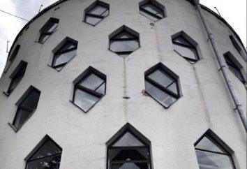 As atracções mundialmente famosas: a casa redonda em Moscou