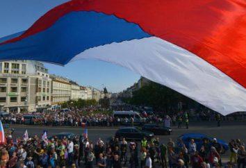 Land Tschechische Republik: Geschichte, Merkmale, Kapital, Bevölkerung, Wirtschaft, Präsident