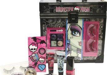 """Kosmetyki """"Monster High"""" – idealny prezent dla nowoczesnej dziewczyny"""