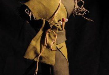 Como hacer un muñeco de vudú con sus propias manos con materiales de desecho