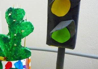 sygnalizacji świetlnej: włamać się do gry fabuła-role-playing z dziećmi