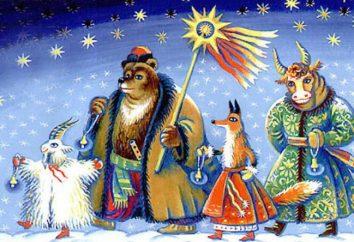 Traditionen des alten Neujahrs in Russland, Ukraine, Großbritannien