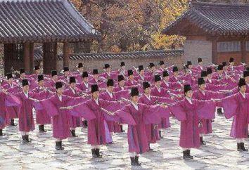 Koreański taniec: funkcje, typy