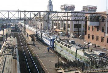 ligações de transporte para o resort, ou Como chegar de trem para Gelendzhik
