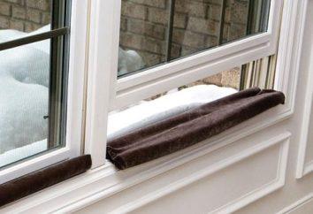 Souffler de fenêtres en plastique. Pourquoi soufflant à travers les fenêtres en plastique