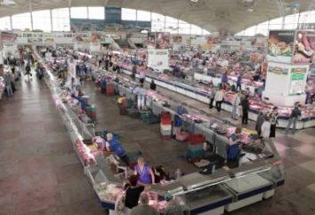 mercado Komarovski en Minsk: cómo conseguir la operación