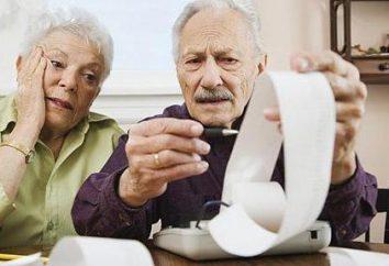 Un paiement forfaitaire des retraités qui comptent sur et comment obtenir
