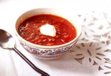 Remplissage de bortsch pour le chou d'hiver: plat préféré en toute saison