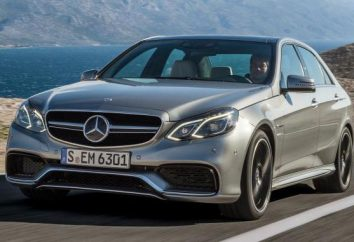 Mercedes E63 AMG – la potenza, design e degli interni