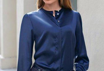 blusas de seda de mujer