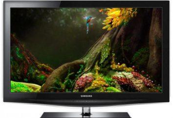 """Recenzje telewizorów """"Samsung"""", opisu, wyboru modelu"""