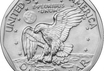 US pieniądze: dolarów i monety papierowe