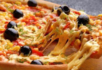 Masa en el agua en una pizza – rápido, fácil y deliciosa