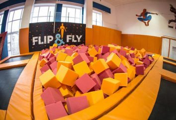 Trampolin Zentrum Flip & Fly in Moskau