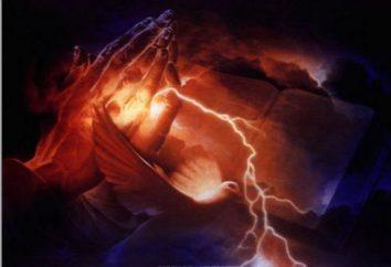 Modlitwa, dostarczając z przekleństwa