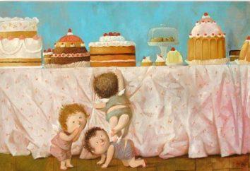 Eugene Gapchinskaya: malowanie artystę, wielbiąc świat dzieciństwa