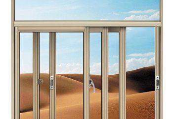 Les fenêtres d'aluminium: l'assemblage et l'installation avec leurs propres mains
