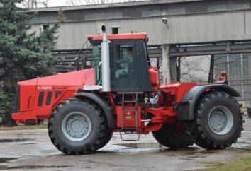 Ciągnik K-744. Silnik K-744