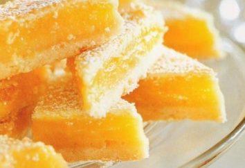 Pirozhen Rezept mit Schokolade und Zitronencreme