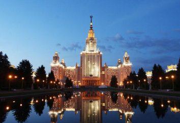 universidades de Moscú con lugares de presupuesto y albergue: universidades públicas e institutos