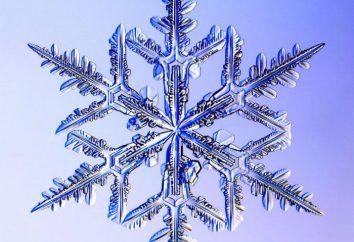 Qu'est-ce qu'un flocon de neige? Comment sont-ils formés et en quoi il consiste?
