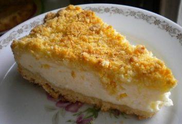 Cheesecake in fretta. Cottage casseruola formaggio in fretta
