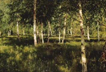 """Birch Grove"" – un ensayo sobre la pintura Isaaka Levitana"