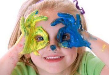 Artesanato para crianças de 2-3 anos: características do emprego