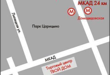 """Sieć handlowa """"Twój Dom"""": Adresy sklepów w Moskwie"""