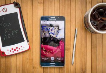 Samsung Galaxy Note 5: panoramica, specifiche, recensioni