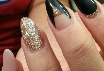 A forma di mandorla design delle unghie: Descrizione