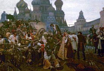 """Malarstwo """"Rano porwania"""". Opis obrazu Vasily Surikov """"Rano porwania Streltsy"""""""