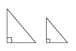 Le premier signe de l'égalité des triangles. Les deuxième et troisième signes d'égalité des triangles
