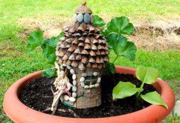 Dom wykonany z naturalnych materiałów. ręce swego pana interesujące rzemiosło