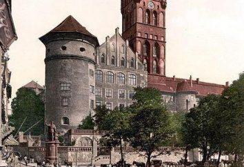 Königsschloss (Kaliningrad): Geschichte, Beschreibung