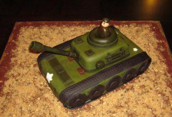 """Cake """"Tank"""": une classe de maîtres. Dessert pour de vrais hommes"""