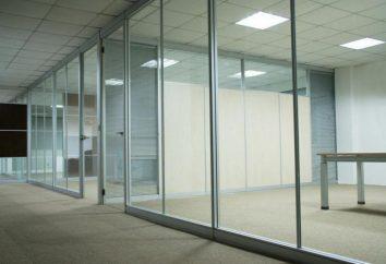 Konfiguracja i instalacja szklanych przegród