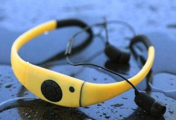 fones de ouvido à prova d'água com mp3-player embutido: comentários